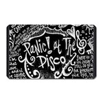 Panic ! At The Disco Lyric Quotes Magnet (Rectangular) Front