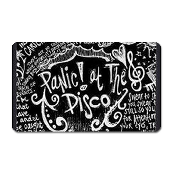 Panic ! At The Disco Lyric Quotes Magnet (Rectangular)