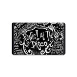 Panic ! At The Disco Lyric Quotes Magnet (Name Card) Front