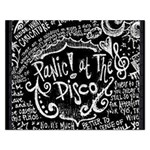 Panic ! At The Disco Lyric Quotes Rectangular Jigsaw Puzzl Front