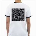 Panic ! At The Disco Lyric Quotes Ringer T-Shirts Back