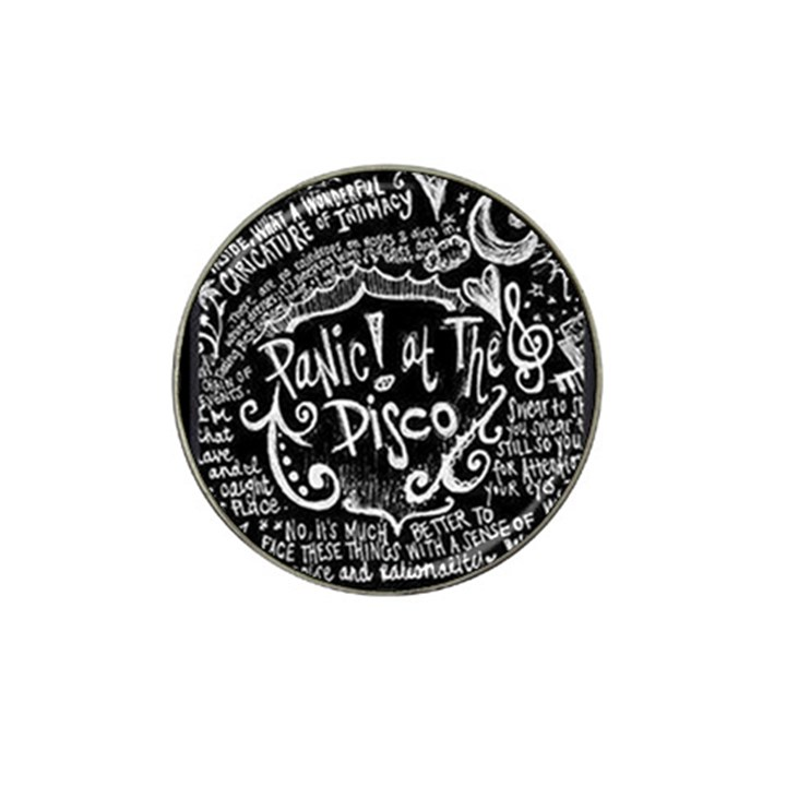 Panic ! At The Disco Lyric Quotes Hat Clip Ball Marker
