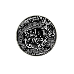 Panic ! At The Disco Lyric Quotes Hat Clip Ball Marker (4 Pack)