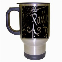 Panic ! At The Disco Lyric Quotes Travel Mug (silver Gray)