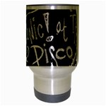 Panic ! At The Disco Lyric Quotes Travel Mug (Silver Gray) Center