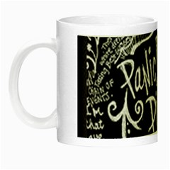 Panic ! At The Disco Lyric Quotes Night Luminous Mugs