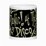Panic ! At The Disco Lyric Quotes Night Luminous Mugs Center