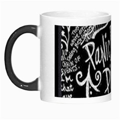 Panic ! At The Disco Lyric Quotes Morph Mugs