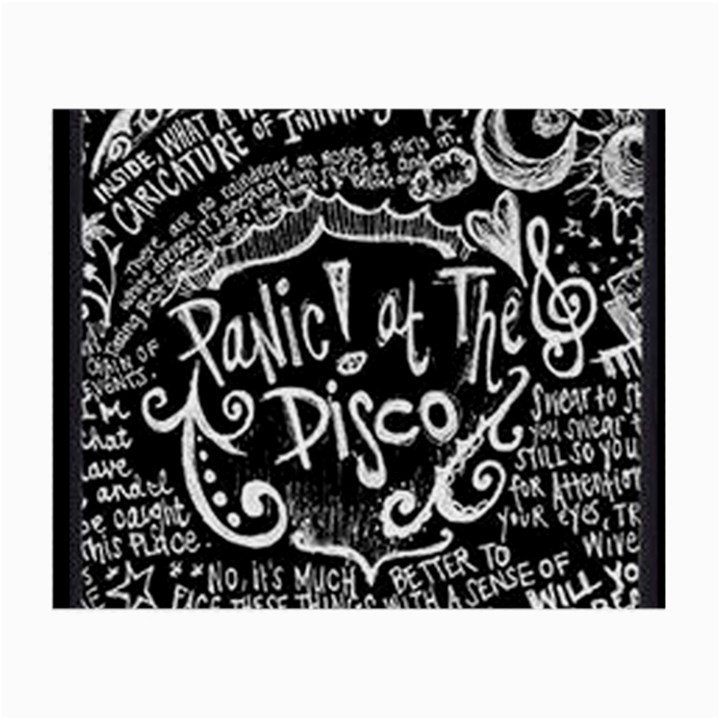 Panic ! At The Disco Lyric Quotes Small Glasses Cloth