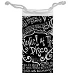 Panic ! At The Disco Lyric Quotes Jewelry Bags Back