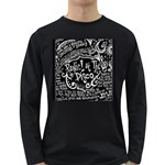 Panic ! At The Disco Lyric Quotes Long Sleeve Dark T-Shirts Front