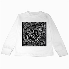 Panic ! At The Disco Lyric Quotes Kids Long Sleeve T-Shirts