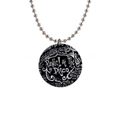Panic ! At The Disco Lyric Quotes Button Necklaces