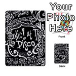 Panic ! At The Disco Lyric Quotes Playing Cards 54 Designs  Front - Joker1