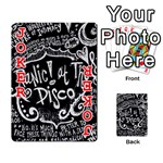 Panic ! At The Disco Lyric Quotes Playing Cards 54 Designs  Front - Joker2