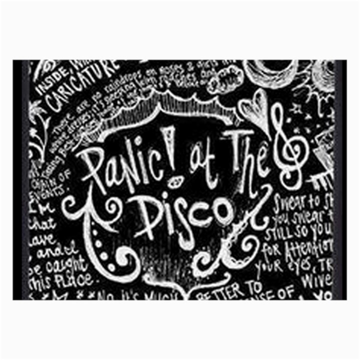 Panic ! At The Disco Lyric Quotes Collage Prints