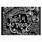 Panic ! At The Disco Lyric Quotes Collage Prints 18 x12 Print - 3
