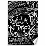 Panic ! At The Disco Lyric Quotes Canvas 12  x 18   18 x12 Canvas - 1