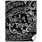 Panic ! At The Disco Lyric Quotes Canvas 18  x 24   24 x18 Canvas - 1