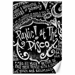 Panic ! At The Disco Lyric Quotes Canvas 20  x 30