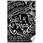 Panic ! At The Disco Lyric Quotes Canvas 20  x 30   30 x20 Canvas - 1