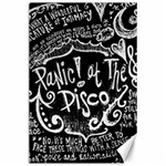 Panic ! At The Disco Lyric Quotes Canvas 24  x 36  36 x24 Canvas - 1
