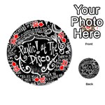 Panic ! At The Disco Lyric Quotes Playing Cards 54 (Round)  Front - Diamond10