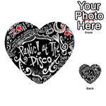 Panic ! At The Disco Lyric Quotes Playing Cards 54 (Heart)  Front - Diamond7