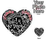 Panic ! At The Disco Lyric Quotes Playing Cards 54 (Heart)  Front - Joker2