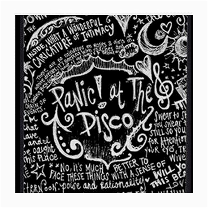 Panic ! At The Disco Lyric Quotes Medium Glasses Cloth (2-Side)