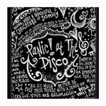 Panic ! At The Disco Lyric Quotes Medium Glasses Cloth (2-Side) Back