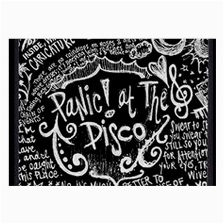 Panic ! At The Disco Lyric Quotes Large Glasses Cloth