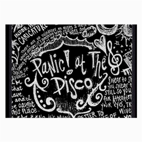 Panic ! At The Disco Lyric Quotes Large Glasses Cloth (2-Side)