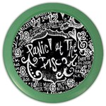 Panic ! At The Disco Lyric Quotes Color Wall Clocks Front
