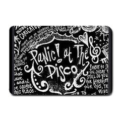 Panic ! At The Disco Lyric Quotes Small Doormat