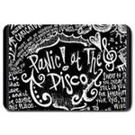 Panic ! At The Disco Lyric Quotes Large Doormat  30 x20 Door Mat - 1