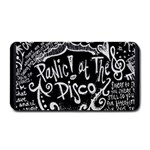 Panic ! At The Disco Lyric Quotes Medium Bar Mats 16 x8.5 Bar Mat - 1