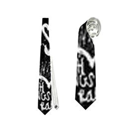 Panic ! At The Disco Lyric Quotes Neckties (two Side)