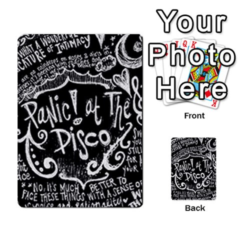 Panic ! At The Disco Lyric Quotes Multi-purpose Cards (Rectangle)