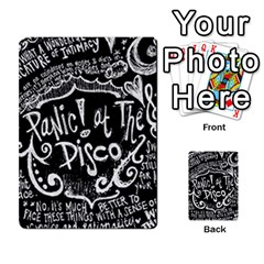 Panic ! At The Disco Lyric Quotes Multi Purpose Cards (rectangle)