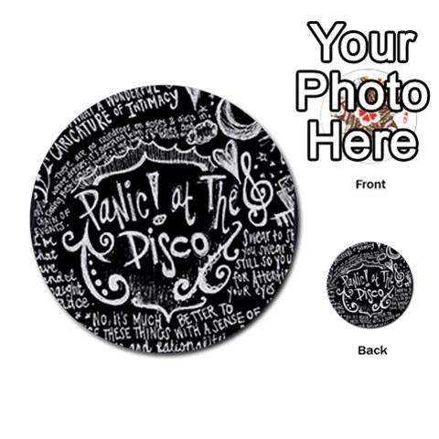 Panic ! At The Disco Lyric Quotes Multi-purpose Cards (Round)