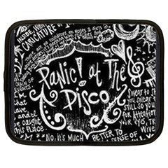 Panic ! At The Disco Lyric Quotes Netbook Case (large)