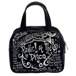 Panic ! At The Disco Lyric Quotes Classic Handbags (2 Sides) Front