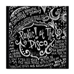 Panic ! At The Disco Lyric Quotes Face Towel Front