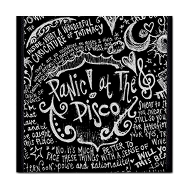 Panic ! At The Disco Lyric Quotes Face Towel