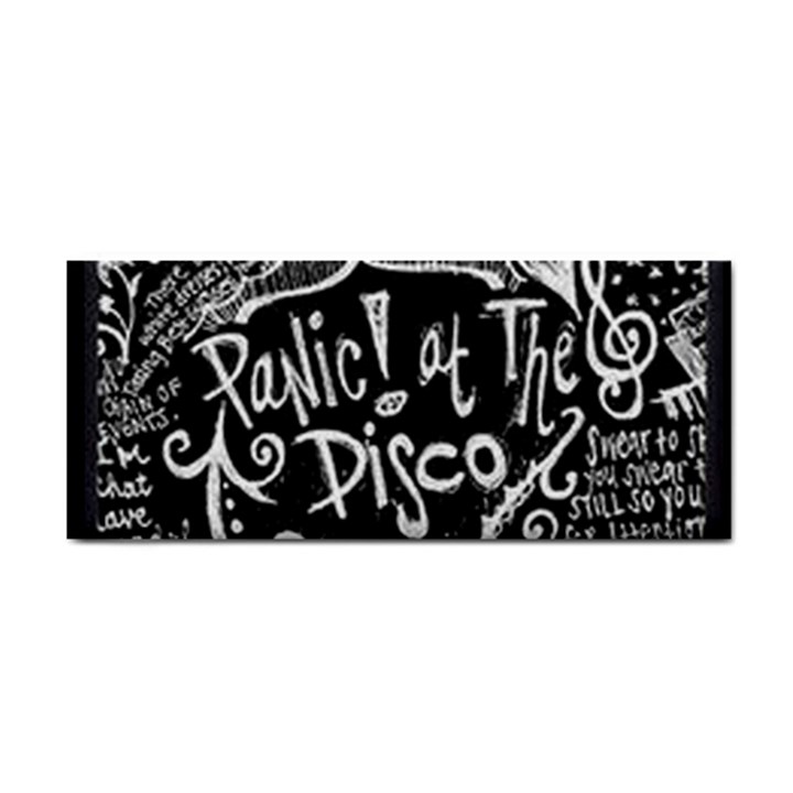 Panic ! At The Disco Lyric Quotes Hand Towel