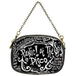 Panic ! At The Disco Lyric Quotes Chain Purses (One Side)  Front