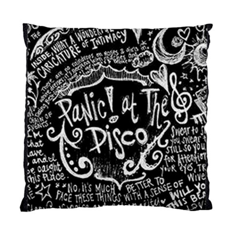 Panic ! At The Disco Lyric Quotes Standard Cushion Case (One Side)