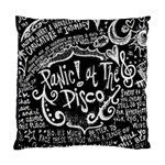 Panic ! At The Disco Lyric Quotes Standard Cushion Case (Two Sides) Back