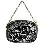 Panic ! At The Disco Lyric Quotes Chain Purses (Two Sides)  Back